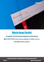 Webalite Website Design Checklist