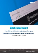 Webalite Website Hosting Checklist