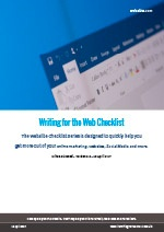 Webalite Writing for the Web Checklist