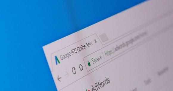 Webalite screenshot Google Adwords